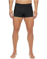 Nike - Surge Color Block Poly Square Leg Brief (red/navy) Men's Swimwear - Lyst
