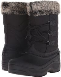 Tundra Boots - Dot (grey/black) Women's Cold Weather Boots - Lyst