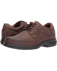 Johnston & Murphy - Waterproof Xc4 Windham Plain Toe Oxford (tan Waterproof Full Grain) Men's Plain Toe Shoes - Lyst