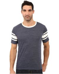 Alternative Apparel - Eco Jersey Touchdown Tee - Lyst