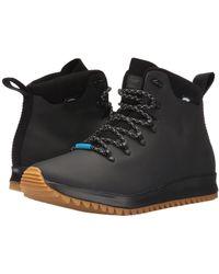 Native Shoes - Ap Apex Ct (jiffy Black Ct/jiffy Black/natural Rubber) Shoes - Lyst