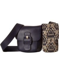 Tory Burch - Sawyer Embellished Double-pocket Shoulder Bag - Lyst