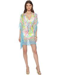 673df75bef Lilly Pulitzer - Gardenia Cover-up (multi Catch The Wave Engineered) Women's  Swimwear