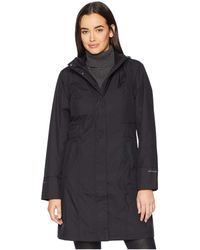 Eddie Bauer - Girl On The Go(r) Trench Coat (deep Indigo) Women's Coat - Lyst