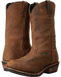 Dan Post - Albuquerque (mid Brown Oily) Cowboy Boots - Lyst