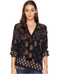 Tolani - Jane Long Sleeve Blosue (rangerz) Women's Blouse - Lyst