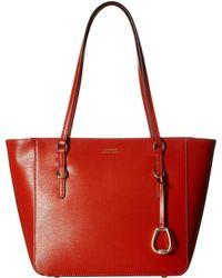 Lauren by Ralph Lauren - Bennington Shopper Medium (black) Handbags - Lyst