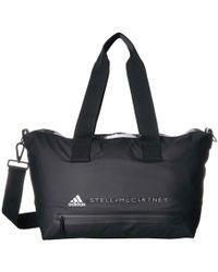 Lyst - adidas By Stella McCartney Quilted Tech-fabric Essential Gym ... 245da58aef674