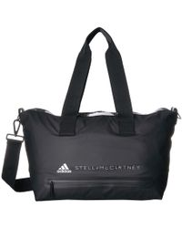 1aea8da413 adidas By Stella McCartney - Small Studio Bag (charcoal Solid Grey black  white