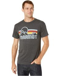 Marmot - Short Sleeve Coastal Tee - Lyst