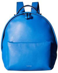 Lipault - By The Seine Nano Backpack (cobalt Blue) Backpack Bags - Lyst