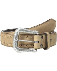 Ariat - 10004667 (perf Edge Distressed Brown) Men's Belts - Lyst