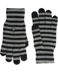 Smartwool - Striped Liner Glove (black) Extreme Cold Weather Gloves - Lyst