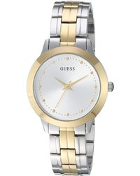 Guess - U0989l8 (gold) Watches - Lyst
