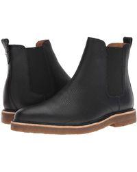 COACH - Pebbled Leather Chelsea Boot W/ Crepe Sole (black) Men's Shoes - Lyst
