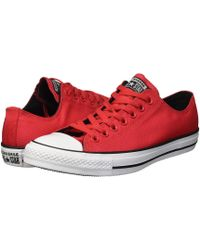 73b416a28d030c Converse - Chuck Taylor All Star Lightweight Nylon - Ox (cherry Red black