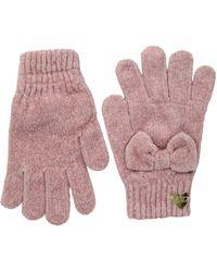 Betsey Johnson - Bownanza Gloves (black) Dress Gloves - Lyst