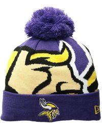 KTZ - Minnesota Vikings Logo Whiz 3 (purple) Baseball Caps - Lyst f6d2f1544