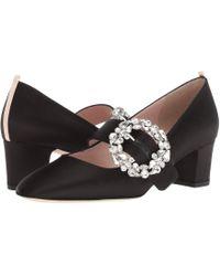 SJP by Sarah Jessica Parker - Cosette (ebony Satin) Women's Shoes - Lyst