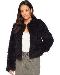 UGG - Lorrena Faux Fur (black) Women's Coat - Lyst