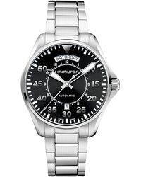 Hamilton - Khaki Pilot Day Date - H64615135 (black) Watches - Lyst