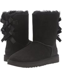 UGG - Shaina Classic Knit Boots - Lyst