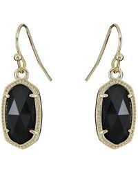 Kendra Scott - Lee Earring (gold/cobalt Drusy) Earring - Lyst