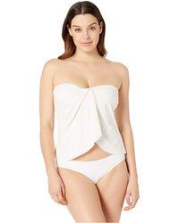 Vince Camuto - Surf Shades Draped Bandini Top (bonsai) Women's Swimwear - Lyst