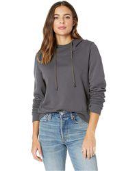 Lamade - Baker Hoodie With Thumbholes (raven) Women's Sweatshirt - Lyst