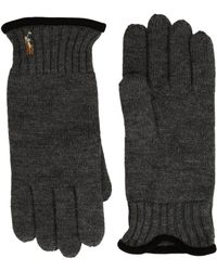 Polo Ralph Lauren - Classic Lux Merino Gloves (windsor Heather) Wool Gloves - Lyst