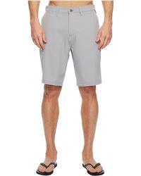 Quiksilver - Union Amphibian 21 Walkshorts (sleet) Men's Shorts - Lyst