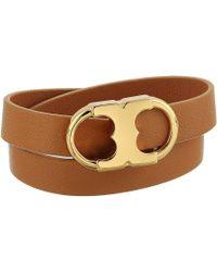 Tory Burch - Gemini Link Double-wrap Bracelet - Lyst