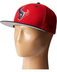 KTZ - Nfl Two-tone Team Houston Texans (red) Baseball Caps - Lyst