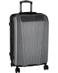 Kenneth Cole Reaction - Sudden Impact 2.0 - 24 Expandable 8-wheel Upright (silver/black) Luggage - Lyst