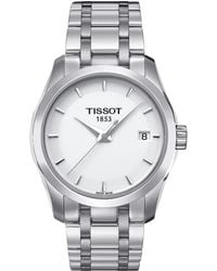 Tissot - Couturier Lady - T0352101101100 (mother-of-pearl/grey) Watches - Lyst