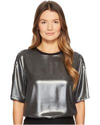 Versace Jeans - Metallic T-shirt - Lyst