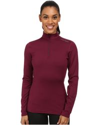 Hot Chillys | Micro-elite Chamois 8k Solid Zip-t | Lyst