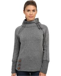 Prana - Lucia Sweater (black) Women's Sweater - Lyst