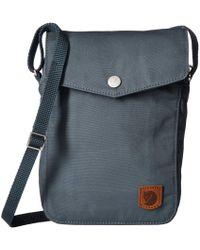 Fjallraven - Greenland Pocket (super Grey) Day Pack Bags - Lyst