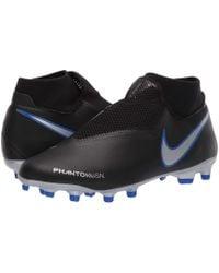 Nike - Phantom Vsn Academy Df Mg (black/black/light Crimson) Men's Soccer Shoes - Lyst