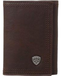 Ariat - Shield Tri-fold Wallet - Lyst