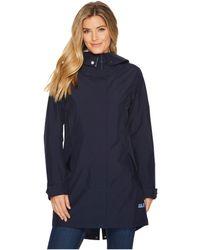 Jack Wolfskin - Monterey Coat (midnight Blue) Women's Coat - Lyst