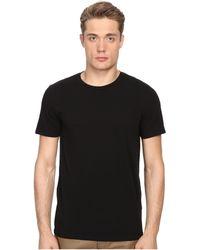 Vince - Short Sleeve Pima Cotton Crew Neck Shirt (coastal) Men's Short Sleeve Pullover - Lyst