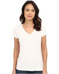 Alternative Apparel - Cotton Modal Everyday V-neck (black) Women's Clothing - Lyst