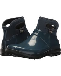 Bogs - Seattle Solid (navy) Women's Work Boots - Lyst