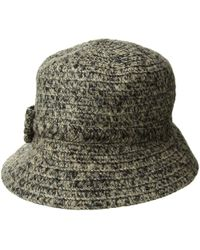 e5235a68d7f Lyst - San Diego Hat Company Cth8160 Kettle Brim W  Bow (black) Caps ...