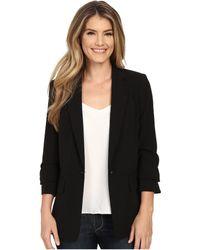 MICHAEL Michael Kors - New Boyfriend Blazer (true Navy) Women's Jacket - Lyst