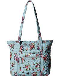 4b5e3f915da Vera Bradley - Iconic Small Vera Tote (daisy Dot Paisley) Tote Handbags -  Lyst
