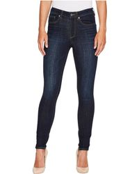 Two By Vince Camuto | Indigo Denim Five-pocket High Waisted Jeans In Dark Vintage | Lyst
