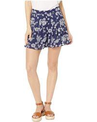 MICHAEL Michael Kors - Tossed Lace Print Shorts (true Navy/white) Women's Shorts - Lyst